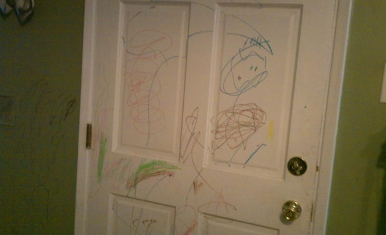 Scribble Drawing For Kids : The ultimate how to of kids messes part walls bit a bliss